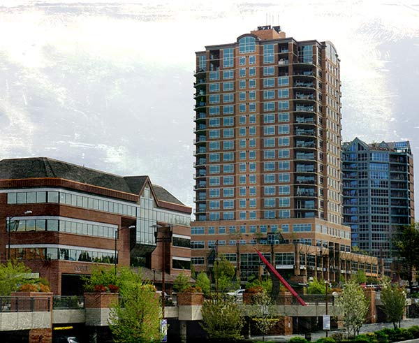 Coeur d'Alene Downtown Skyline | Modern Glass
