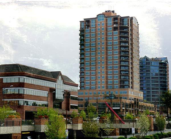 Coeur d'Alene Downtown Skyline   Modern Glass