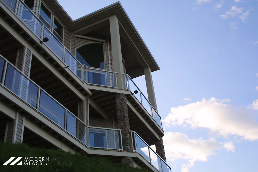 Private Residence Glass Handrails