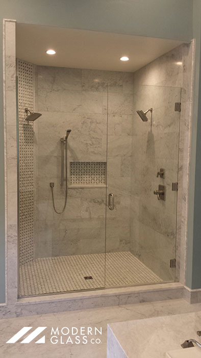 Private Residence Heavy Shower Door